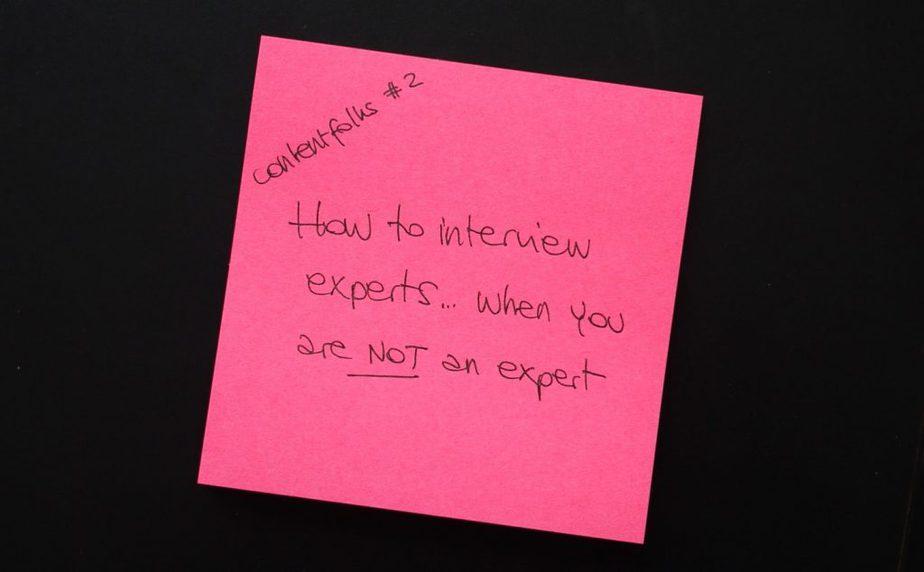 contentfolks interview smes