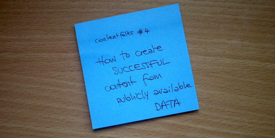 create content from public data