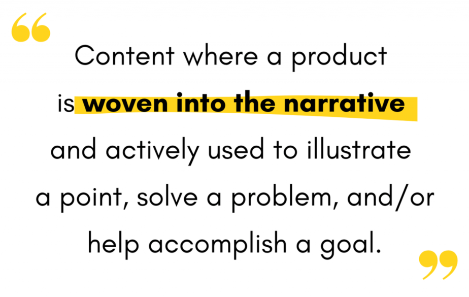 product led content marketing definition